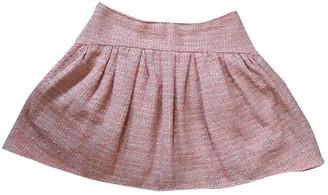 RED Valentino Orange Cotton Skirt for Women