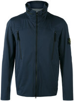 Stone Island Light Soft Shell jacket - men - Polyester/Polyurethane Resin - L