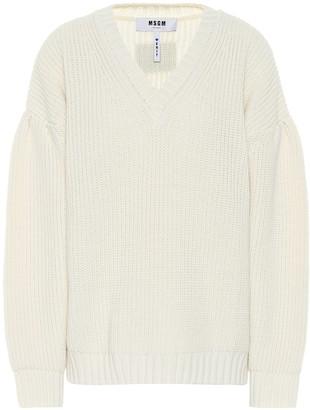 MSGM Wool-blend sweater