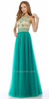 Nika Diamond Bodice Evening Dress