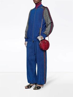 Gucci Glitter Bomber Jacket
