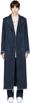 Marques Almeida Indigo Denim Coat