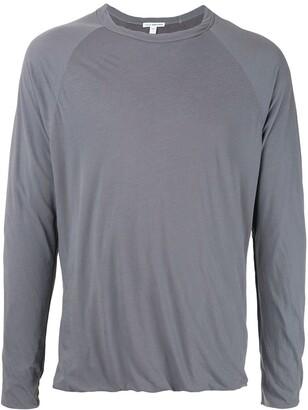 James Perse twist detail T-shirt