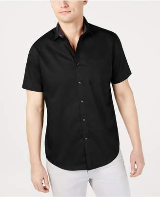 INC International Concepts Inc Men Short-Sleeve Pocket Shirt