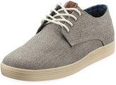 Ben Sherman Preston Lace-Up Canvas Sneaker, Gray