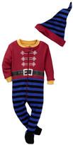 Petit Lem Sleeper & Hat Set (Baby Boys)