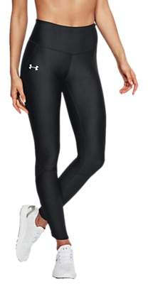 Under Armour Fly Fast Running Leggings, Black/Reflective Silver