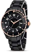 Miss Sixty Women's Quartz Watch Glitter SHU004 with Plastic Strap