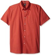Volcom Men's Everett Solid Short Sleeve Shirt