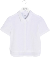 NATIVE YOUTH Tephra Drop Hem Shirt