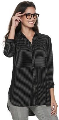 Apt. 9 Women's Button Front Tunic