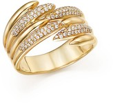 Bloomingdale's Diamond Micro Pavé Open Band in 14K Yellow Gold, .25 ct. t.w.
