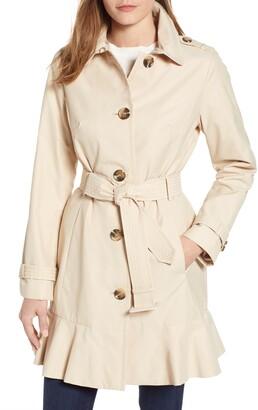 Kate Spade Millbrook Twill Water Resistant Rain Coat