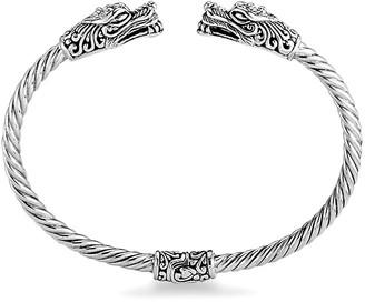 Samuel B. Sterling Silver Cable Bangle Bracelet