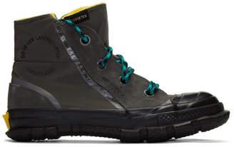 Converse Grey Chuck Taylor MC18 High-Top Sneakers