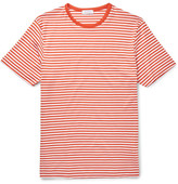 Sunspel Slim-fit Striped Cotton-jersey T-shirt