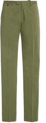 Pt01 PT 01 Cotton-Silk Slim Pants