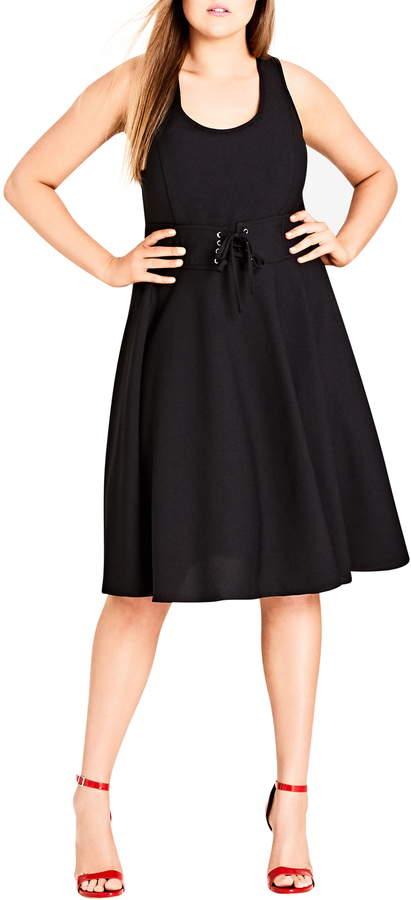 1fb870995d4 Black Corset Dress - ShopStyle