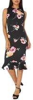 Dorothy Perkins Women's Floral Sheath Dress