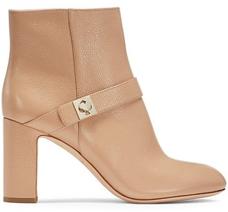 Kate Spade Thatcher Twistlock Suede Ankle Boots