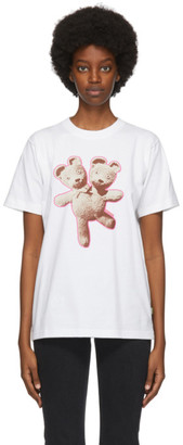 Marc Jacobs White Heaven by Double-Headed Teddy T-Shirt