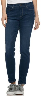 L.L. Bean Women's L.L.Bean Performance Stretch Jeans, Slim Leg