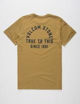 Volcom Stone Co Mens T-Shirt