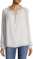 NYDJ Women's Clipped Jacquard Pullover