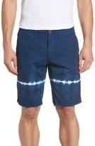 Original Paperbacks Men's Napa Tie Dye Stripe Chino Shorts