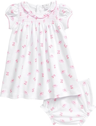 Kissy Kissy Pink Ballet Smocked Dress