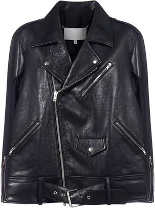 Maison Margiela Memori Of Leather Biker Jacket