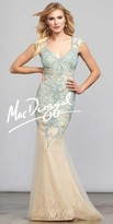 Mac Duggal Bailey Beaded Mermaid Prom Dress