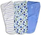 Baby Boy SwaddleMe 3-pk. Adjustable Infant Swaddles