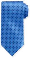 Stefano Ricci Neat Square Printed Silk Tie