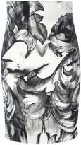 Versace printed pencil skirt - women - Polyester/Spandex/Elastane/Viscose - 40