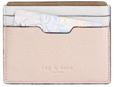 Rag & Bone Women's Leather Card Case - Pink