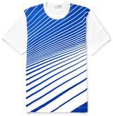 Comme Des Garçons Shirt - Printed Cotton-jersey T-shirt