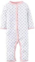 Carter's Baby Girl Print Bow Coveralls