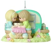 """Precious Moments 161043 Christmas Gifts, """"I'm A Happy Camper When I'm with You"""", Porcelain Ornament"""
