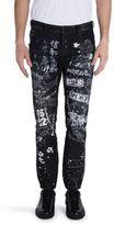 DSQUARED2 Five-Pocket Printed Jeans