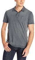 John Varvatos Men's Reverse Print Peace Polo Shirt