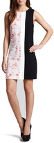 Erin Fetherston Lipstick Colorblock Shift Dress