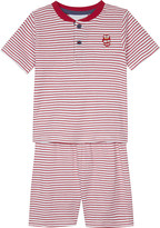 The Little White Company London Henley stripe cotton pyjamas 1-6 years