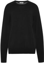 Equipment Black Cashmere Sloane Crewneck Sweater