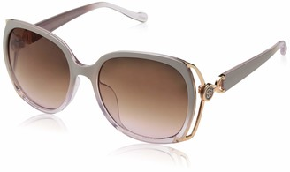 Jessica Simpson Women's J5686 Round Sunglasses with 100% UV Protection 60 mm