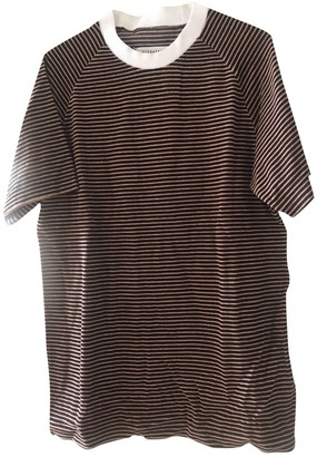 Maison Margiela Brown Cotton T-shirts