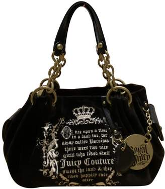 Juicy Couture Black Velvet Handbags