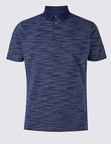 Limited Edition Pure Cotton Striped Polo Shirt