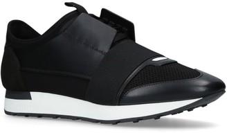 Balenciaga Leather Race Runner Sneakers