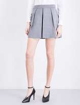 Claudie Pierlot Energy pleated woven shorts